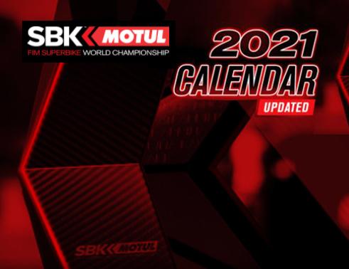WSBK 2021: Novedades y cambios en el calendario
