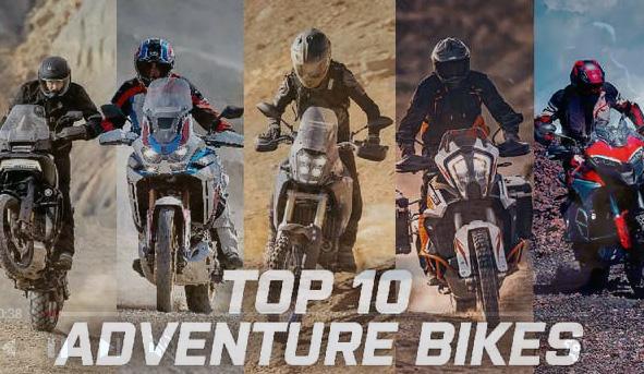 Motos: Las 10 mejores motocicletas de aventura 2021