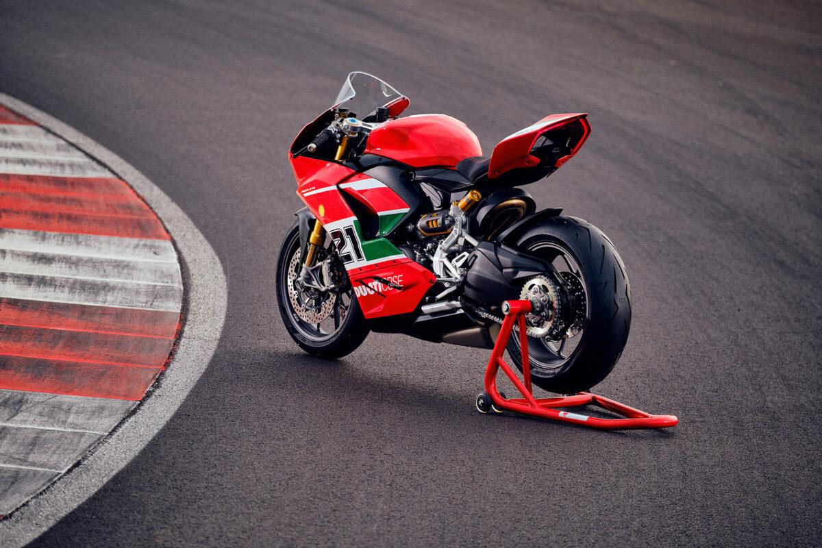 Ducati Panigale V2 Troy Bayliss edición especial 2022