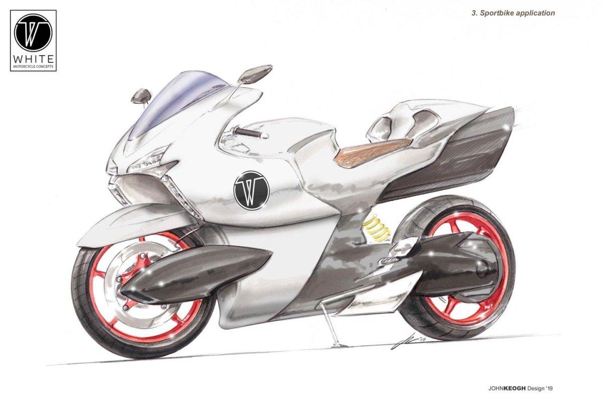 WMC 250EV: una moto eléctrica que despliega 400 km/h